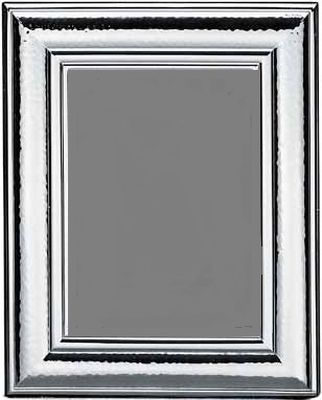 Richiesta Offerta Per Silver Hammered Rectangular Photo Frame 9x13